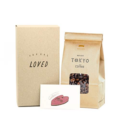 オーガニック フェアトレード 母の日ギフト コーヒー豆 シティロースト 中浅煎り East Timor Mother's Day Gift with Card (メッセージカード付き 200g)