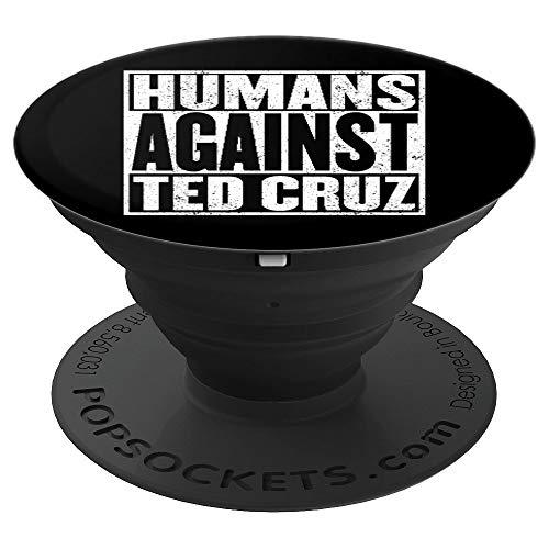 Antitrumpf-Shirt-Menschen gegen lustiges Geschenk Ted Cruz - PopSockets Ausziehbarer Sockel und Griff für Smartphones und Tablets