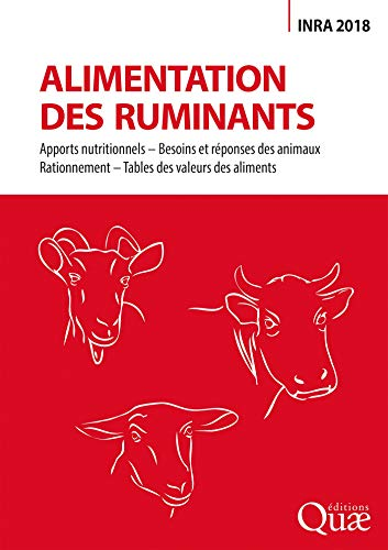 Alimentation des ruminants: Inra 2018 (QUAE GIE) (French Edition)