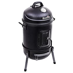 professional Char-Broil Bullet Charcoal Smoker, 16 inches