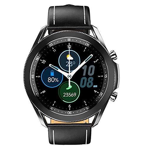 Smart Watch Fitness Tracker Watch Impermeable Sports W3 Smart Band Bluetooth Llamadas Bluetooth para hombres Equipos portátiles negros