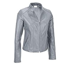 Gray VearFit Wiliums Biker Moto Red Tan Real Leather Jacket Tailor Made Black