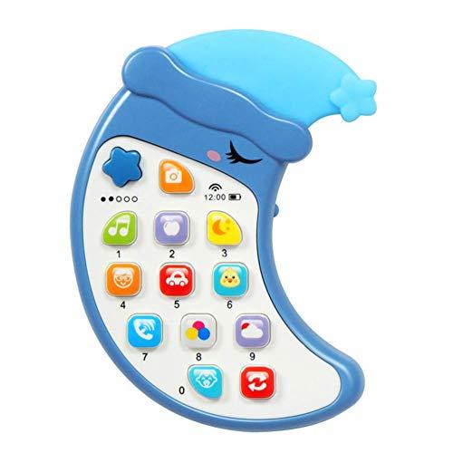 Dan&Dre Teléfono con música para bebés, teléfono con música para bebés, música para niños, Juguetes para teléfonos móviles, Juguetes para niños, Juegos para el Cerebro, educación temprana