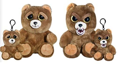 Feisty Pets Sir Growls-A-Lot- Plush Stuffed Bear and Mini Sir Growls-a-lot Bear …