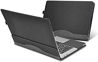 Heycase Compatible for Lenovo Thinkpad X1 Yoga Case Cover 14 inch 1st Gen & 2nd Gen & 3rd Gen Laptop(Not fit Thinkpad X1 Yoga 4th Gen),PU Leather Folio Stand Protective Hard Shell Case, Grey