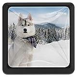 Perro esquimal Mango de 3 cajones para armario Armarios perillas de...