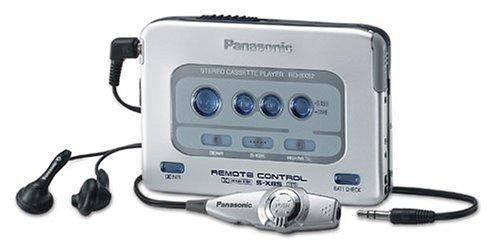 Panasonic RQ-SX52EG-S tragbarer Kassettenspieler Silber