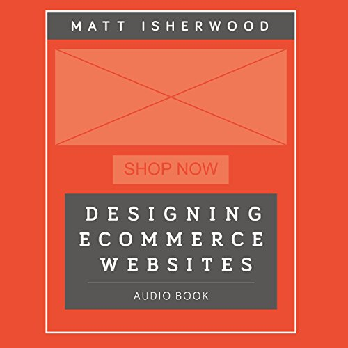 Designing Ecommerce Websites audiobook cover art