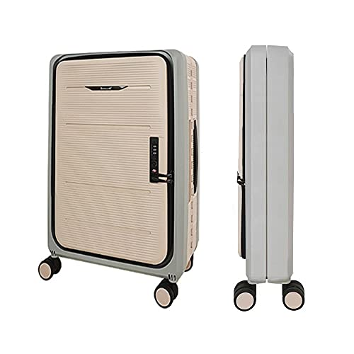XINZEMAO Maleta de equipaje plegable grande bolsa de viaje Rodillos plegable equipaje rígido bolsa de lona enrollable de 50 cm maleta de viaje camping equipo de viaje...