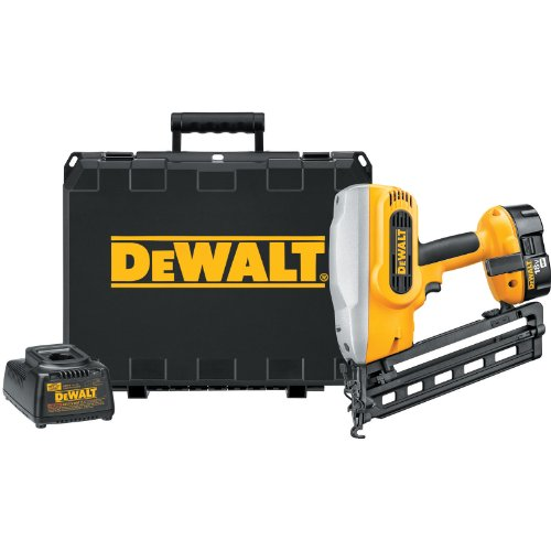 DEWALT DC618K XRP 18-Volt Cordless 1-1/4 Inch - 2-1/2 Inch 16 Gauge 20 Degree Angled Finish Nailer Kit