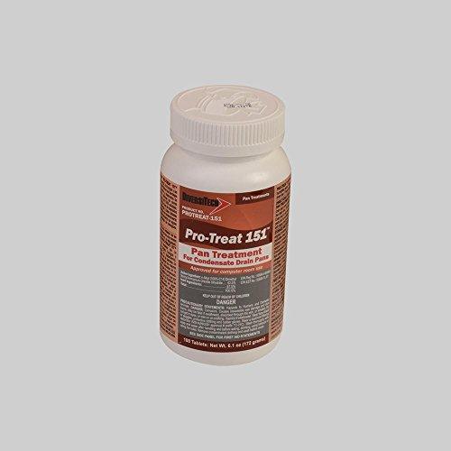 DiversiTech Pro-Treat 151 HVAC Drain Pan Treatment, 100 Tablets