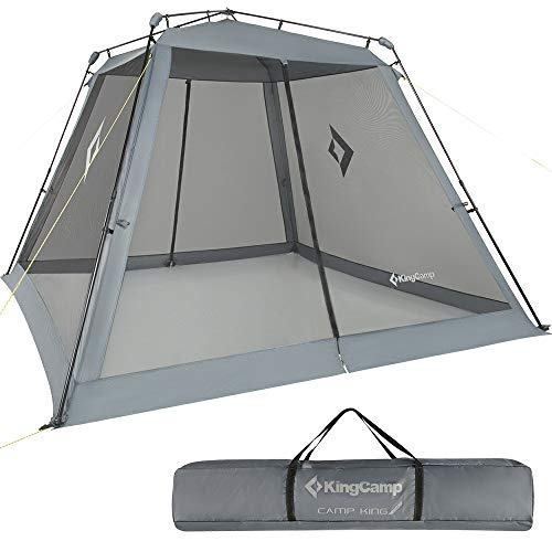 KingCamp Screen House, Instant UPF 50+ Sun Shelter with Mesh Side Walls, 10 x 10 ft Extra Large...