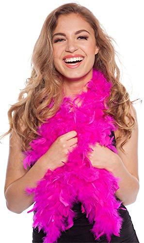 Federboa Boa dunkelrosa pink magenta 180cm