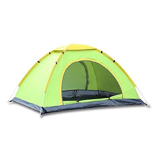 RYP Guo Outdoor Products Tente Rapide Automatique extérieure, Ventilation Respirante Nette, tentes portatives imperméables Ultra-légères, Utilisation de 3 à 4 Personnes,3-4 Personne,Vert