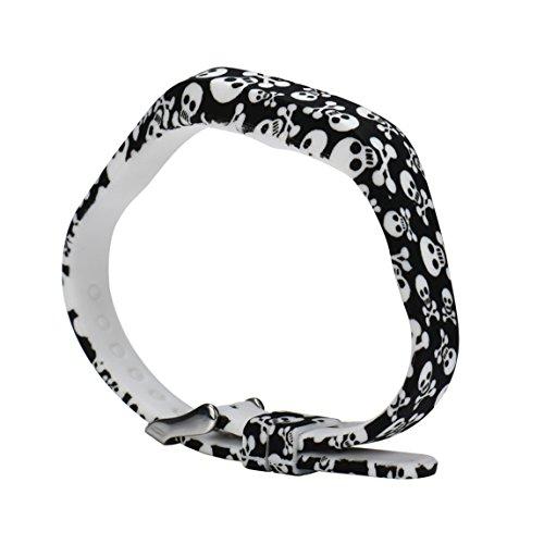 Vovotrade Dames zachte siliconen horlogeband armband voor Fitbit Flex 2 Smart Watch (G)