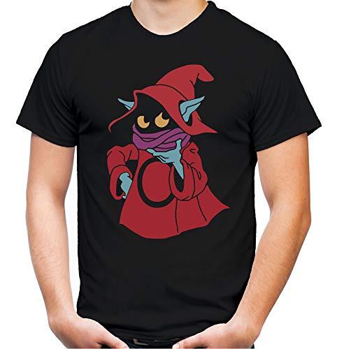 Preisvergleich Produktbild Orko Männer und Herren T-Shirt / Masters of The Universe He-Man Kult (XL,  Schwarz)