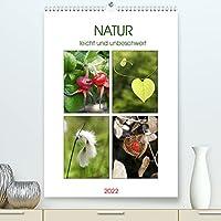 Natur leicht und unbeschwert (Premium, hochwertiger DIN A2 Wandkalender 2022, Kunstdruck in Hochglanz): Leichtigkeit, vermittelt in wunderschoenen Naturfotografien (Monatskalender, 14 Seiten )