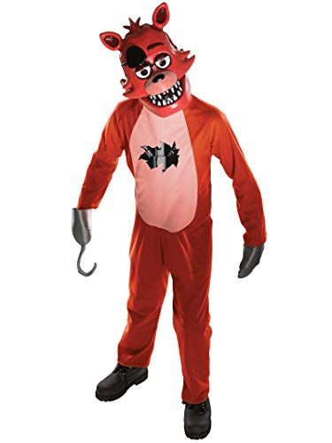 Rubies Costume Officiel Foxy de Five Nights at Freddy's pour Enfant, Taille M
