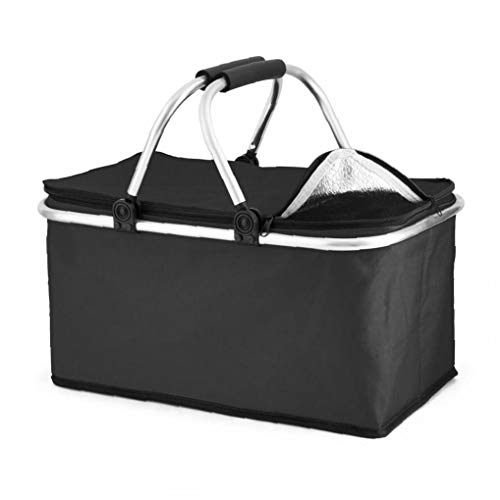 Tuimiyisou 30 Liter extra großen Gefrierschrank Gefrierschrank Kühle Kühltasche Lunchbox Picknick Camping Essen EIS Trinken