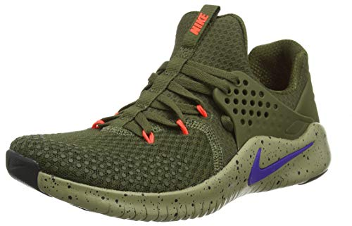 Nike Herren Free Trainer V8 Traillaufschuhe, Mehrfarbig (Olive Canvas/Indigo Burst/Neutral Olive 342), 42.5 EU