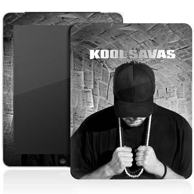 Apple iPad 1 Aufkleber Schutz Folie Design Sticker Skin Kool Savas Fanartikel Merchandise Tot oder Lebendig - Album Artwork