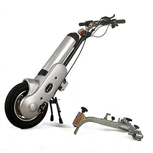 MEILUN Dispositivo Caliente de la Silla de Ruedas del handbike de la Silla de Ruedas eléctrica Venta,Silver
