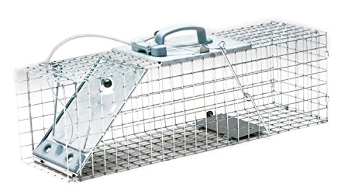 Havahart 1084 Piège cage pour animaux taille moyenne Easy Set - réglage facile