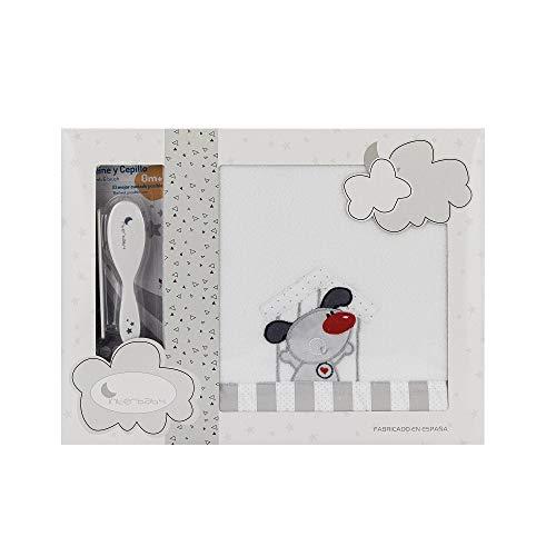Sabanas invierno Coralina CUNA 60 x 120 cm (bajera+encimera+funda almohada) (Danielstore) (Puppy)