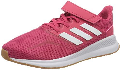 adidas Unisex-Kinder RUNFALCON C Sneaker, Pink, 31.5 EU