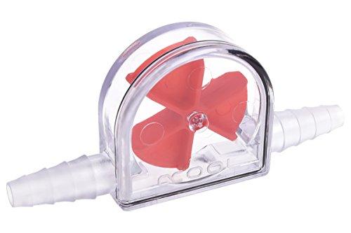 Alphacool 17357 Eisfluegel Durchflussanzeiger Rot 6-11mm - Plexi Wasserkühlung Überwachung