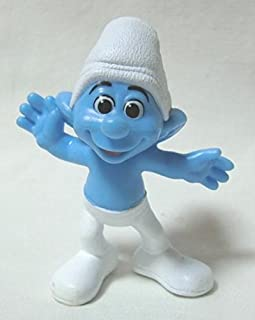 2013 US McDonald's Happy Meal toy movie ' The Smurfs 2 (THE SMURFS 2) ' ' Crazy ' figure