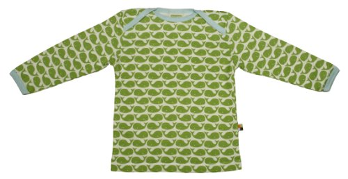 Loud + Proud Unisex - Baby Sweatshirt 205, Gr. 62/68, Grün (Moos )