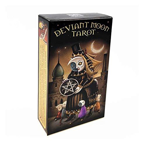 CXHM 78 Karten, englische okkulte Weissagung Deviant Moon Oracle-Karte, Family Party...