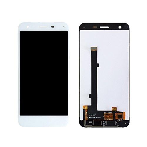 JayTong - visualización LCD y digitalizador de visualización táctil de Repuesto para ZTE T70 A506 Blanco