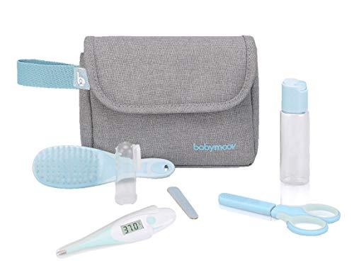Babymoov Trousse de soin pour bébé, 6 accessoires, avec thermomètre bébé digital