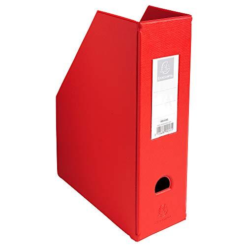 Exacompta 90165E - Revistero, color rojo