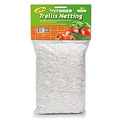 VIVOSUN Plant Trellis Netting Grow Bags