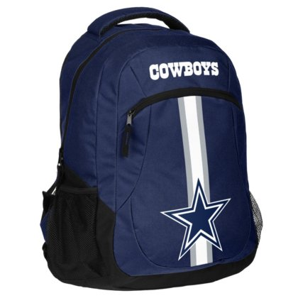 FOCO NFL Dallas Cowboys Action Backpack, Team Color, One Size