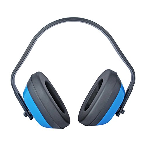 Viwanda Kapselgehörschutz Blau SNR: 25.7dB; NRR: 28dB; CE EN 352-1, in der 10 er Packung