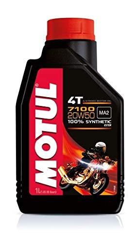 Motoröl Motul 7100 4T 20W50-2x 1 Liter