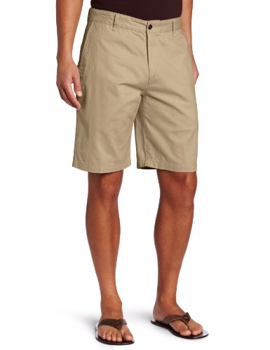 Dockers Men's Classic-Fit Perfect-Short - 30W - New British Khaki (Cotton)