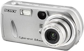 Sony DSCP92 Cyber-shot 5MP Digital Camera w/ 3x Optical Zoom