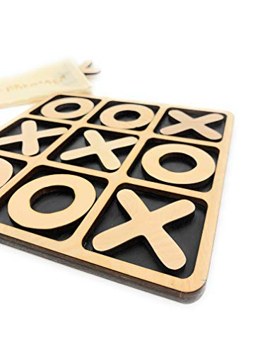 CreaTech-Classic Tic-Tac-Toe Board Game XOXO TicTacToe Classic Board Games Noughts and Crosses...