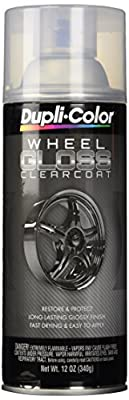 Dupli-Color HWP103 Clear High Performance Wheel Paint - 12 Oz.