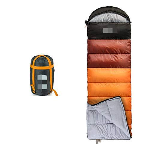 OUY Saco De Dormir Portátil Saco De Dormir Al Aire Libre Ultraligero del Deporte Que Acampa del Algodón 1.1kg para El Adulto Apto para Ni?os, Adolescentes Y Adultos.