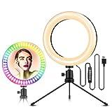 ELEGIANT Luce per Selfie, 8'' Luce ad Anello LED per Foto con...