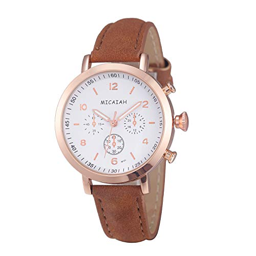 Reloj de pulsera clásico para mujer, moderno, informal, ultradelgado, analógico, de...