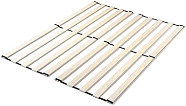 Zinus Adrianne Solid Wood Vertical Bed Support Slats / Bunkie Board, Full