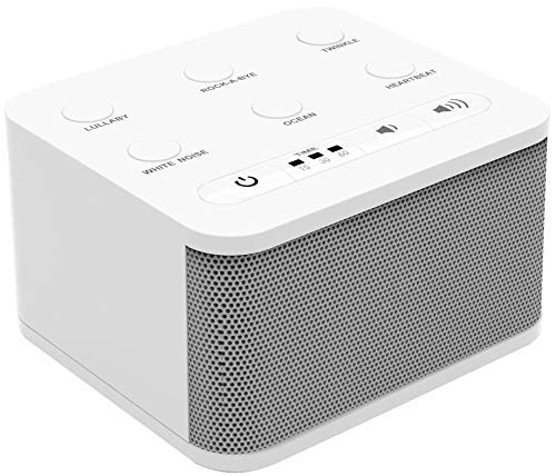 Big Red Rooster Baby White Noise Machine   6 Sleep Sounds   Sound Machine for Kids, Toddler Or Infant   Plug in Or Battery Powered   Portable Soother with Lullaby is Perfect for Travel