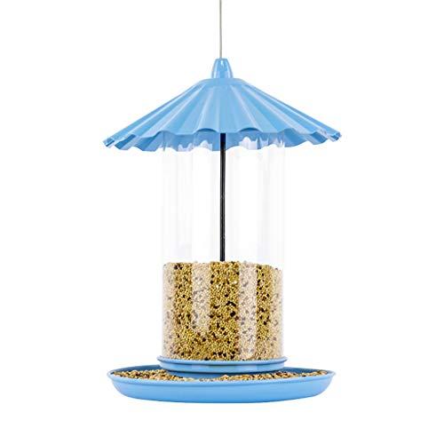 JXXDDQ Type accrochant en Plastique extérieur décoration de Jardin d'arbre de Seau de conducteur d'oiseau d'animal familier
